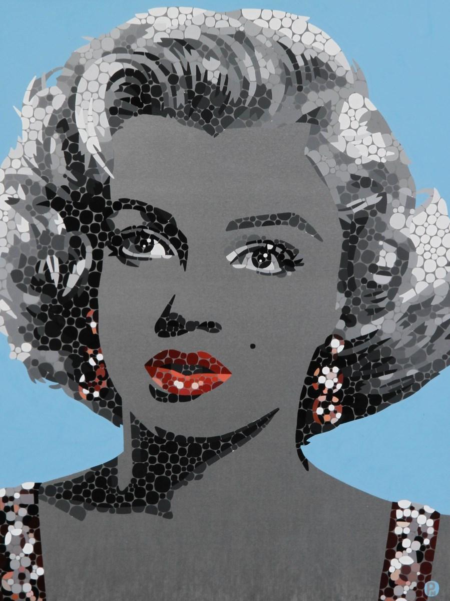 Marilyn Monroe Glamour Study I